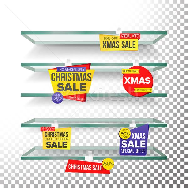 Vuota vacanze Natale vendita pubblicità Foto d'archivio © pikepicture