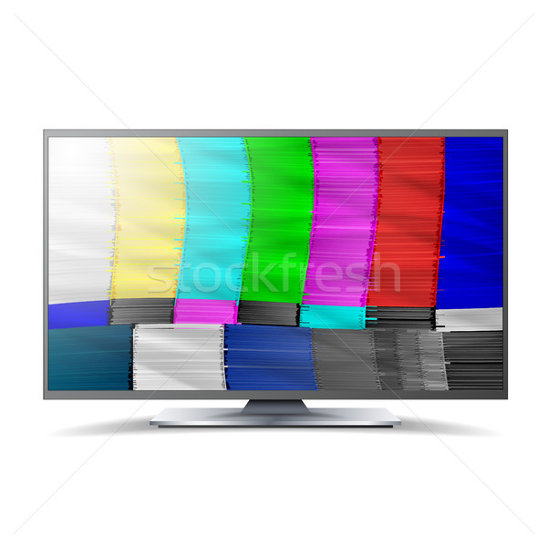 Pas signal tv réseau Rainbow bars Photo stock © pikepicture