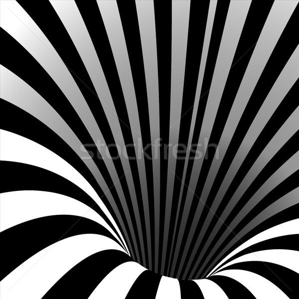 Spiraal draaikolk vector illusie swirl tunnel Stockfoto © pikepicture