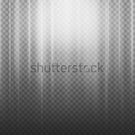 Light Beam Rays Vector. Light Effect Vector. Rays Burst Light.Isolated On Transparent Background. Ve Stock photo © pikepicture
