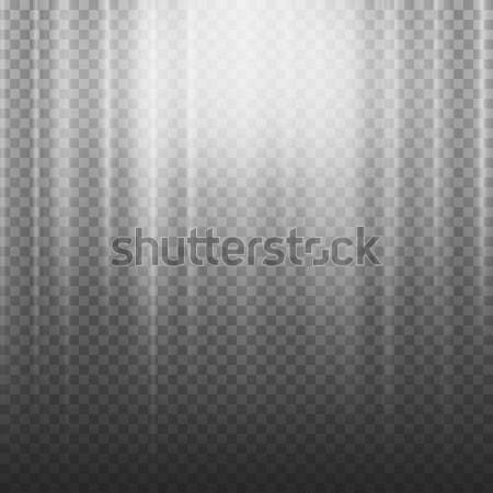 Licht balk stralen vector effect Stockfoto © pikepicture