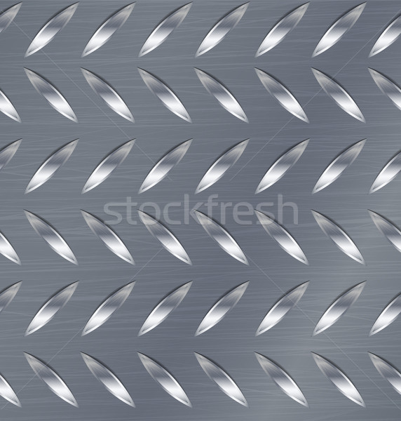 Gyémánt fém tányér végtelenített vektor minta Stock fotó © pikepicture