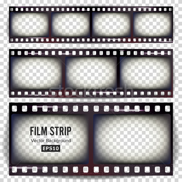 Film Strip Vector Stock photo © pikepicture