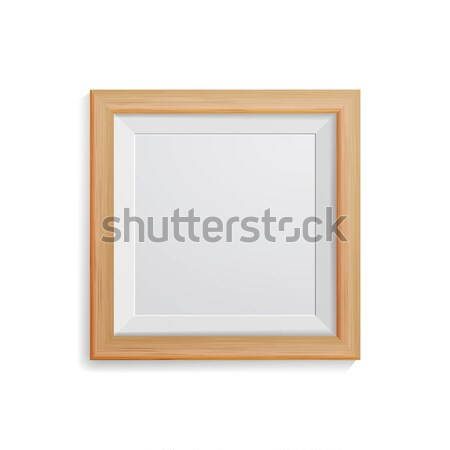 Realistic Photo Frame Vector. With Soft Shadow. Good For Your Presentations. Stock photo © pikepicture