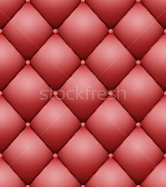 Quilted Pattern Vector. Vintage Buttoned Leather Stylish Upholstery Stock photo © pikepicture