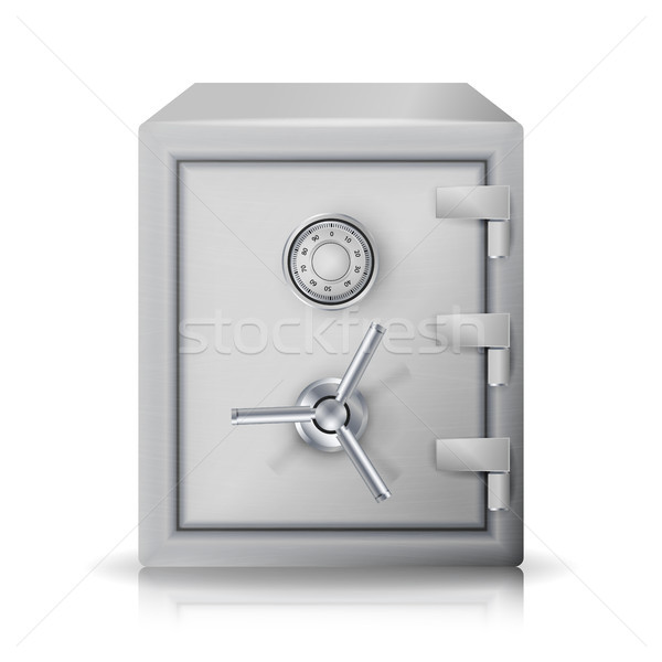 Metal Safe Realistic Vector. Stock photo © pikepicture