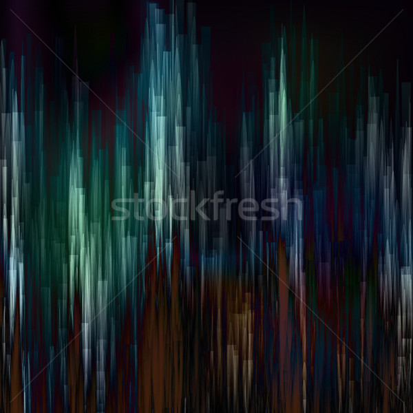 Glitch Background Vector. Digital Pixel Noise Stock photo © pikepicture