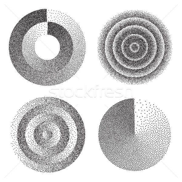 Abstract Geometric Shape Set Vector Stock photo © pikepicture