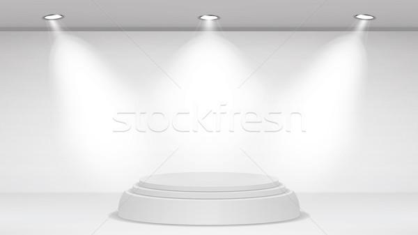пусто белый фото студию интерьер реалистичный Сток-фото © pikepicture