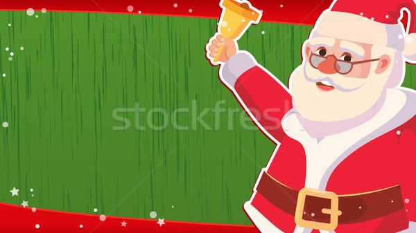 Christmas Sale Banner Template Vector. Xmas Santa Claus. Big Sale Offer. For Xmas Banner, Brochure,  Stock photo © pikepicture