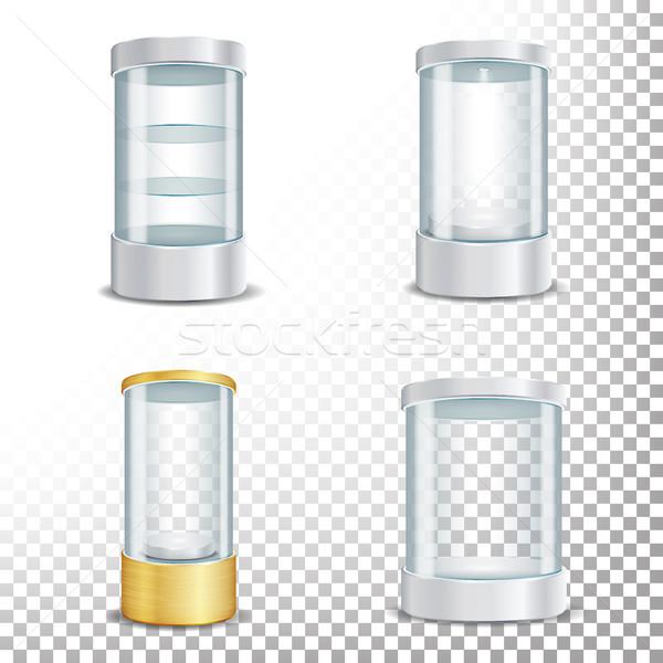 пусто стекла подиум набор Spotlight Сток-фото © pikepicture