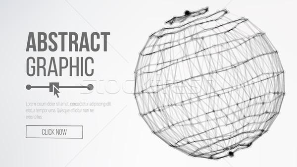 Cyfrowo wygenerowany obraz duży danych kompleks Zdjęcia stock © pikepicture