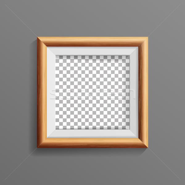 Foto d'archivio: Realistico · photo · frame · vettore · soft · ombra · bene
