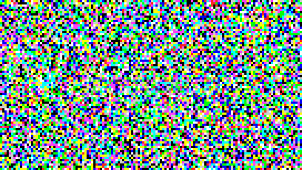 Pixel Noise Vector. VHS Glitch Texture TV Screen. Introduction And The End Of The TV Programming. Stock photo © pikepicture