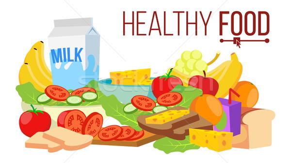 健康食品 ベクトル ダイエット 生活 栄養 現代 ストックフォト © pikepicture