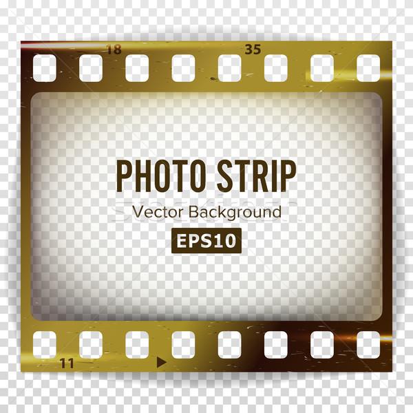 Foto vector realistisch lege frame grunge Stockfoto © pikepicture