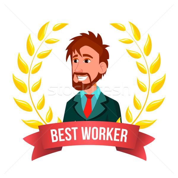 Best werknemer werknemer vector europese man Stockfoto © pikepicture