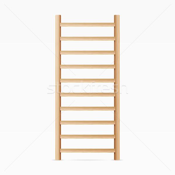 Stok fotoğraf: Jimnastik · duvar · çubuklar · merdiven · merdiven · spor