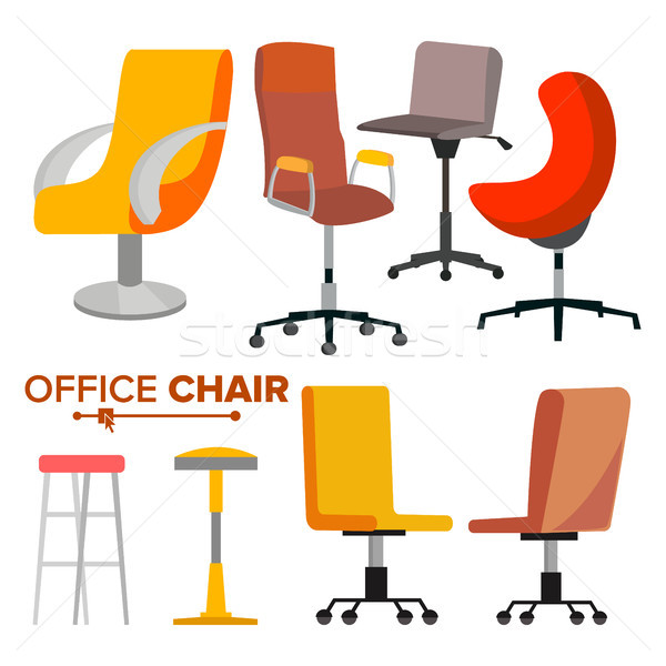Bureau chaises vecteur affaires recrutement Photo stock © pikepicture