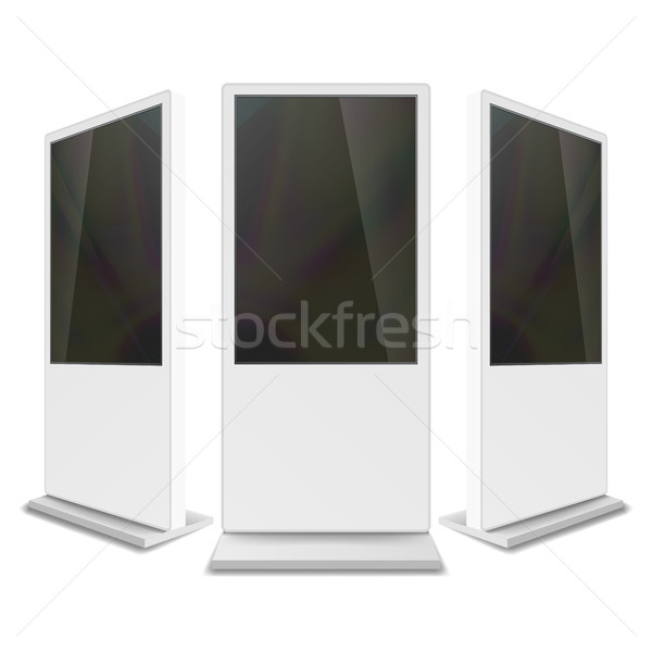 Werbung Touchscreen Vektor up Produkte Stock foto © pikepicture