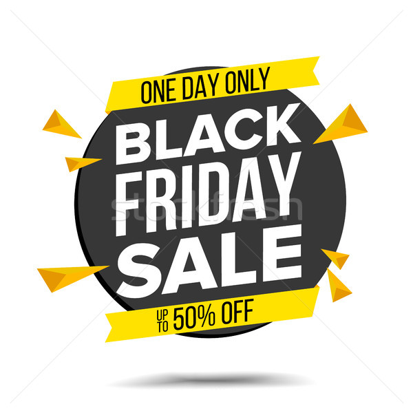 Black friday Verkauf Banner Vektor Website Aufkleber Stock foto © pikepicture