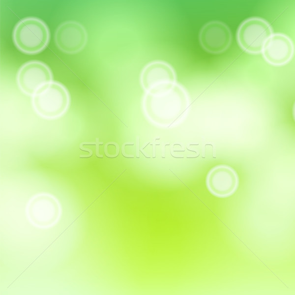Abstract voorjaar natuur vector wazig warm Stockfoto © pikepicture
