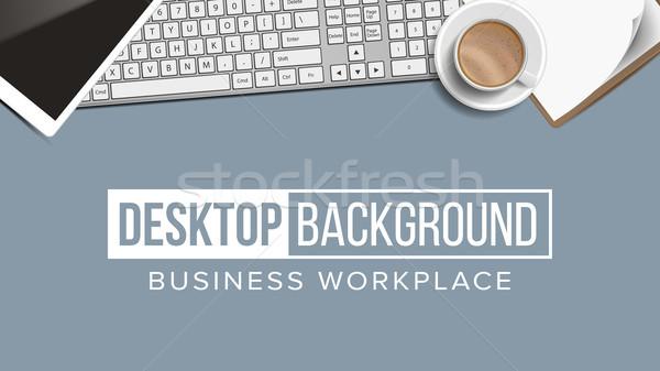 ビジネス 職場 デスクトップ ベクトル デジタル 金融 ストックフォト © pikepicture