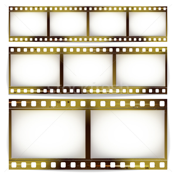 Film Strip Vector Set Stock photo © pikepicture