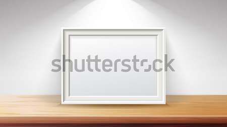 Photo stock: Rectangulaire · cadre · vecteur · bon · écran · projets