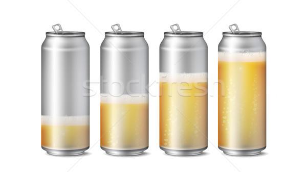 Valósághű sör vázlat vektor textúra hab Stock fotó © pikepicture