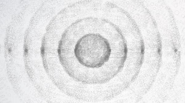 Soyut küre biçim uzay teknoloji 3D Stok fotoğraf © pikepicture