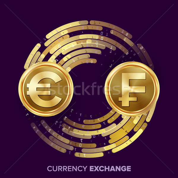 Money Currency Exchange Vector. Stock photo © pikepicture