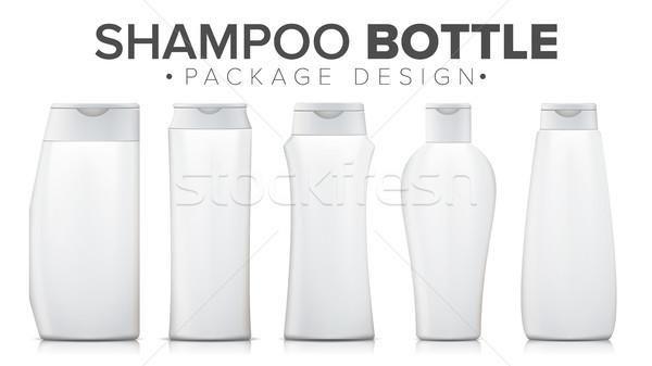 Shampoo bottiglia up vettore modello plastica Foto d'archivio © pikepicture