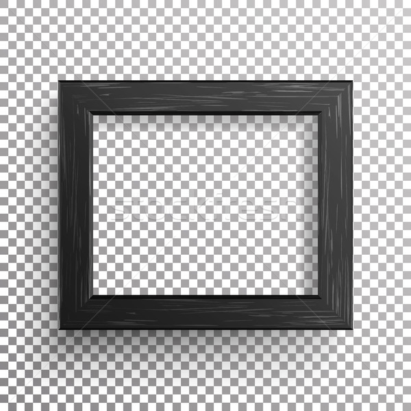 Foto stock: Realista · photo · frame · vetor · isolado · transparente · abstrato