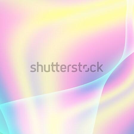 流体 パステル ホログラフィック ネオン 効果 ストックフォト © pikepicture