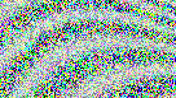 Pixel Noise Vector. VHS Glitch Texture TV Screen. Color Pixels Background. No Signal Stock photo © pikepicture