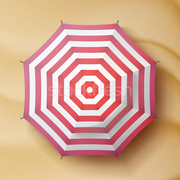 Clássico chuva guarda-chuva vetor viajar ilustração Foto stock © pikepicture
