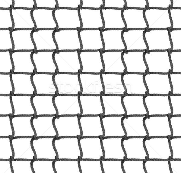 Tenis netto liny sylwetka piłka nożna Zdjęcia stock © pikepicture