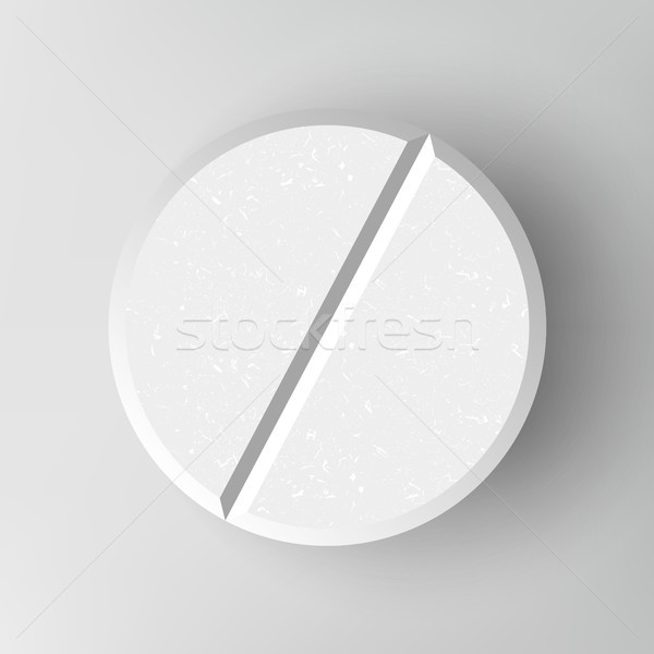 White 3D Medical Pill Stock photo © pikepicture