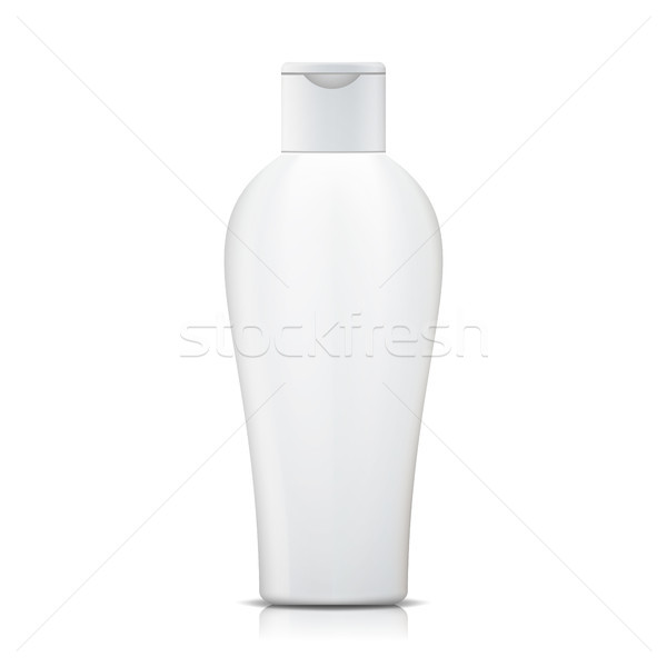 Shampoo bottiglia vettore bianco plastica contenitore Foto d'archivio © pikepicture