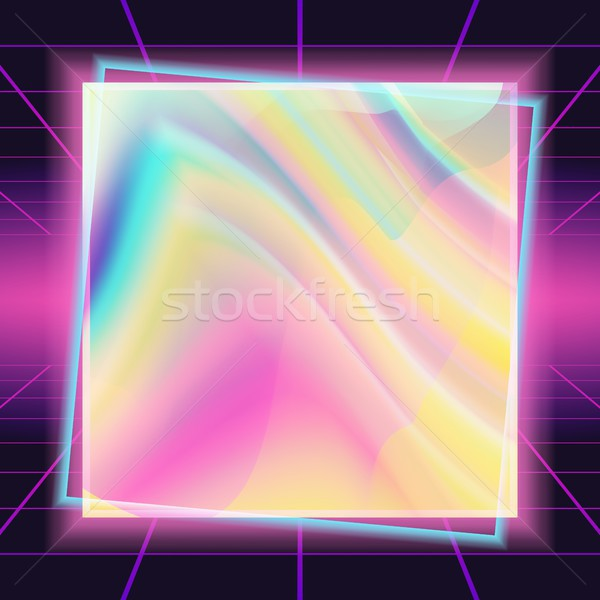 80s Background Vector. Banner, Flyer, Poster Retro Design. 1980 Texture. Illustration Stock photo © pikepicture