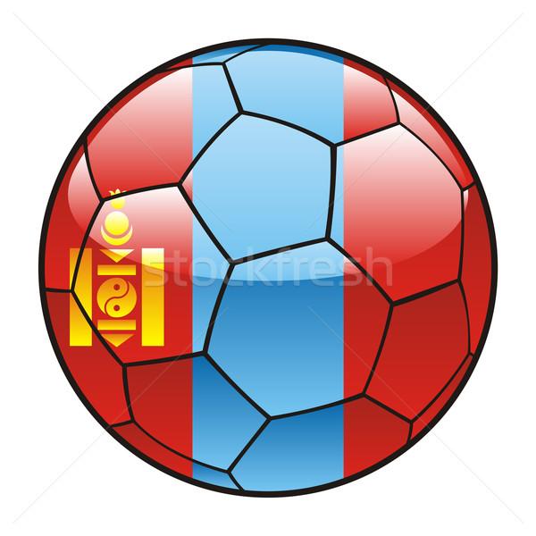 Mongolie pavillon ballon football sport football Photo stock © PilgrimArtworks