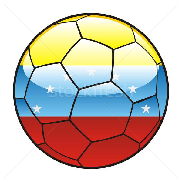 Venezuela bandeira futebol futebol esportes futebol Foto stock © PilgrimArtworks