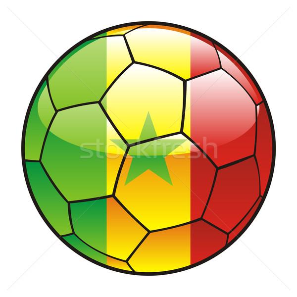 セネガル フラグ サッカーボール スポーツ サッカー ストックフォト © PilgrimArtworks