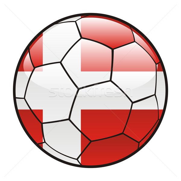 Danemark pavillon ballon football sport football Photo stock © PilgrimArtworks