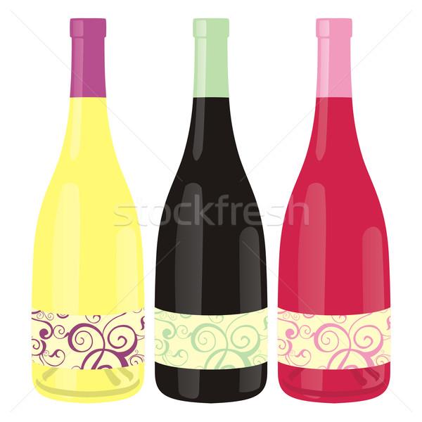 классический форма вино бутылок готовый Сток-фото © PilgrimArtworks