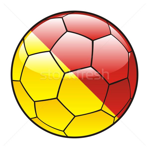Foto d'archivio: Sicilia · bandiera · soccer · ball · sport · calcio