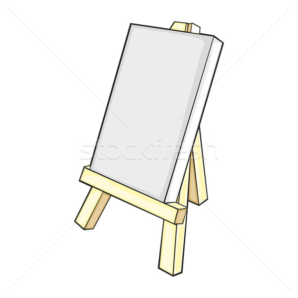 isolated easel Stock photo © PilgrimArtworks