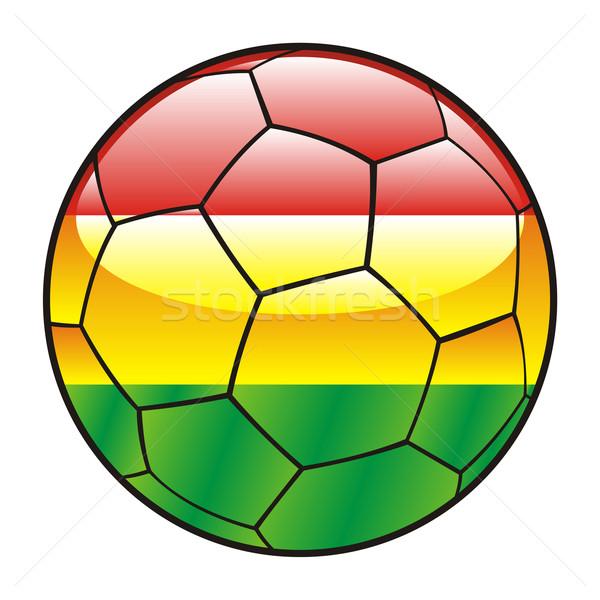 Bolivia vlag voetbal voetbal sport voetbal Stockfoto © PilgrimArtworks
