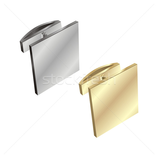 isolated cuff links Stock photo © PilgrimArtworks